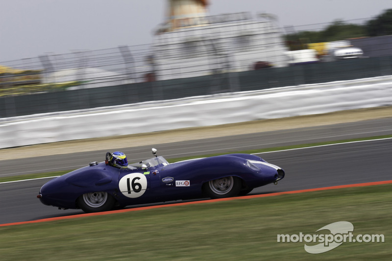 #16 Lister Costin Jaguar: Richard Kent