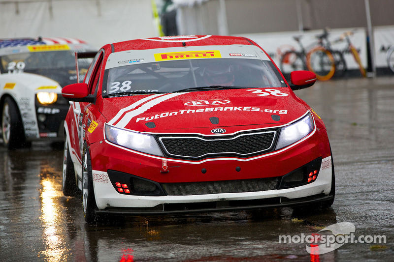 #38 Kia Racing/Kinetic Motorsports Kia Optima: Mark Wilkins