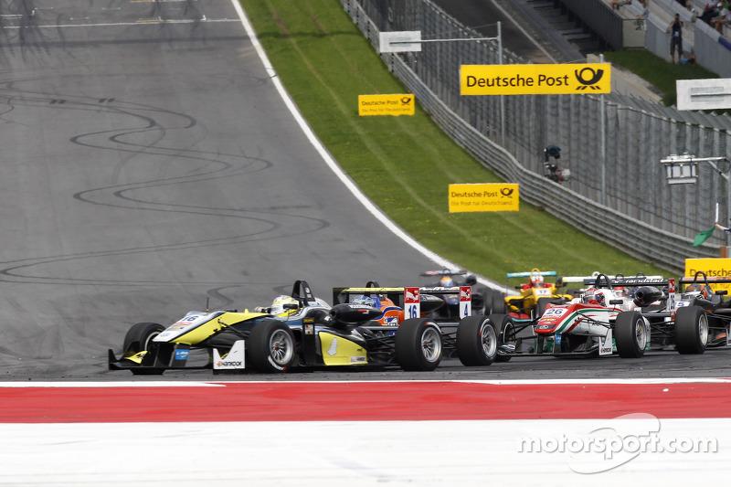 Gustavo Menezes, Van Amersfoort Racing Dallara F312 Volkswagen