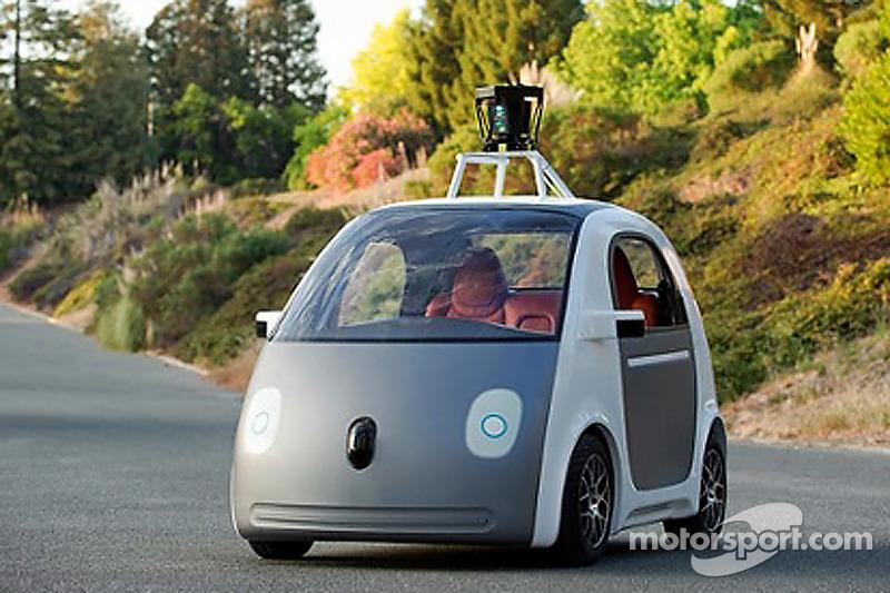Google sürücüsüz aracı