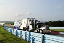 Hauler of Casey Mears, Germain Racing Chevrolet