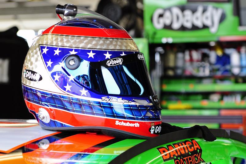 Casco di Danica Patrick, Stewart-Haas Chevrolet Corsa