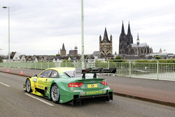 The car of Mike Rockenfeller, Audi Sport Team Phoenix Audi RS 5 DTM
