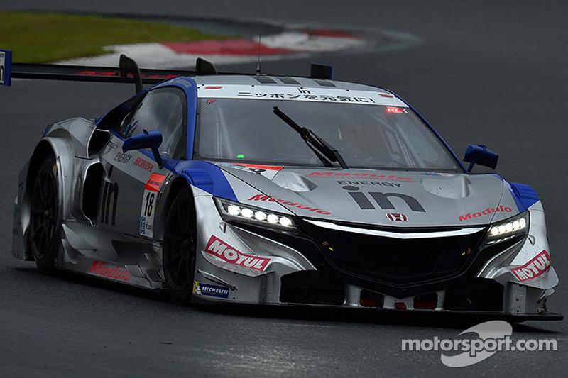 #18 Weider Modulo Dome Racing 本田 HSV-010 GT: Naoki Yamamoto, 弗里德利·马可维基