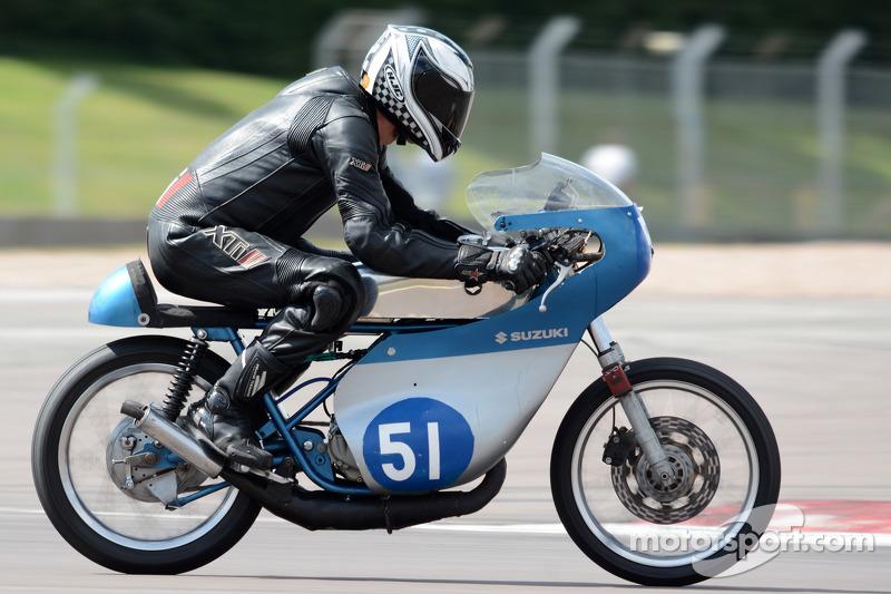 Terry Brocklehurst, 350cc Suzuki