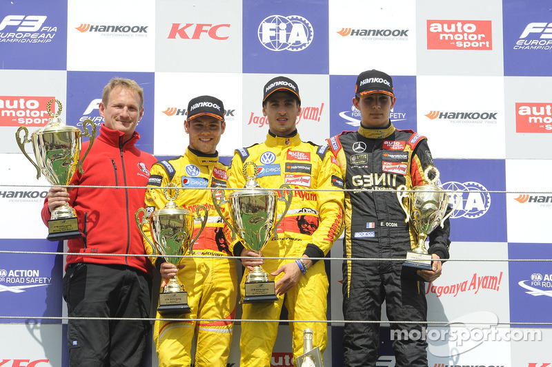Tom Blomqvist, Antonio Giovinazzi, Esteban Ocon