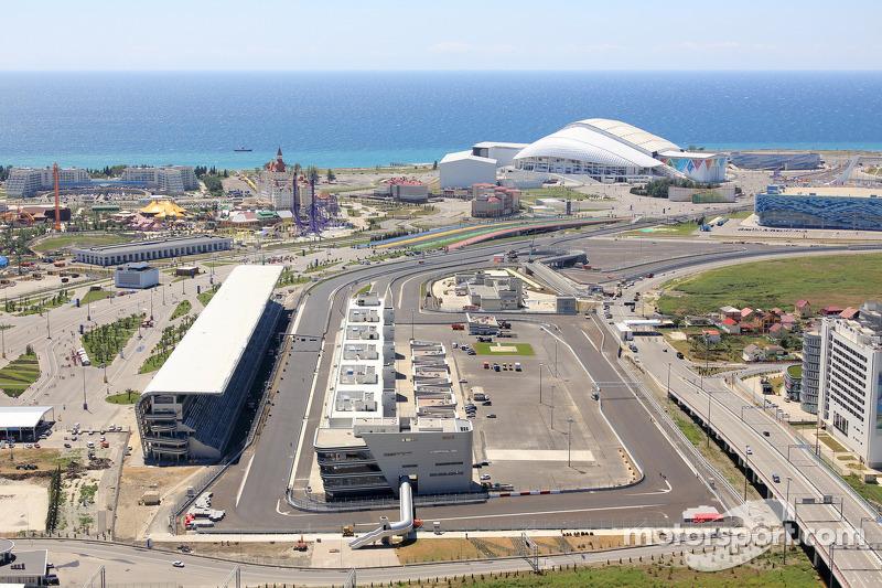 Autodromo di Sochi, dettaglio circuito