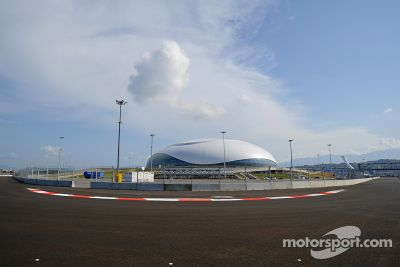 Sigue la preparación en el autodromo de Sochi