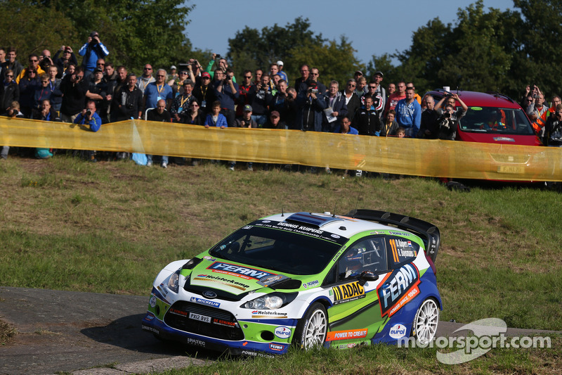 Dennis Kuipers ve Robin Buysmans, Ford Fiesta WRC