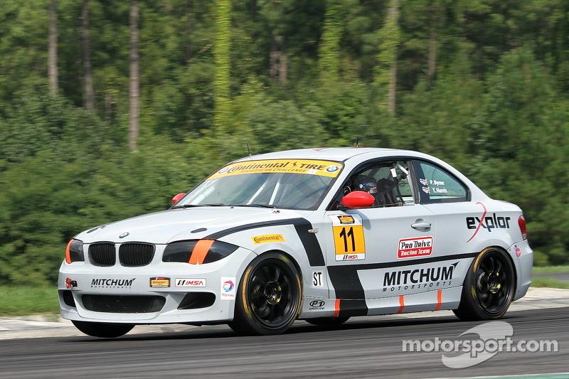 #11 Mitchum Motorsports 宝马 128i: 帕特里克·拜恩, 托德·哈里斯