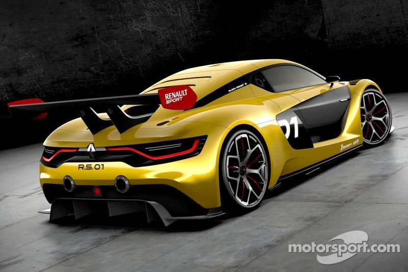 La Renault Sport R.S. 01