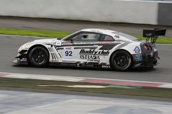 #92 AAI-RSTRDA Nissan GTR: Morris Chen, Ryohei Sakaguchi, Marco Seefried