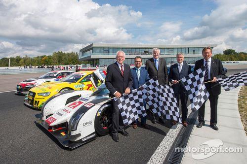Audi Neuburg opening ceremony