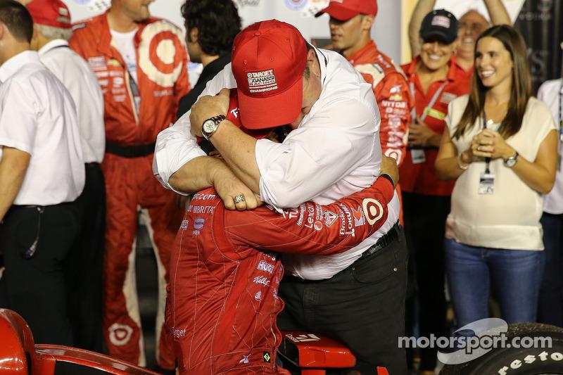 Tony Kanaan, Chip Ganassi Racing Chevrolet e Chip Ganassi