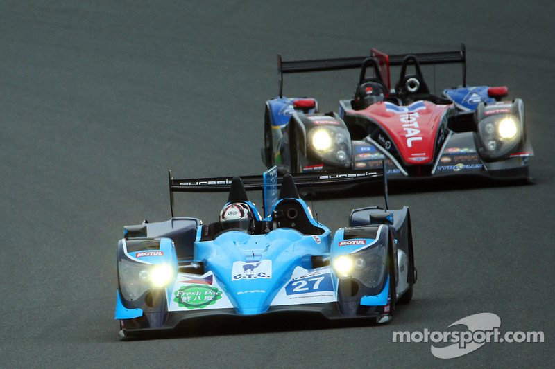 #27 Eurasia Motorsport Oreca-Nissan: Jun Jin Pu, John Hartshorne, Richard Bradley e #1 Oak Racing Team Total Morgan-Judd: Ho-Pin Tung, David Cheng, Keiko Ihara