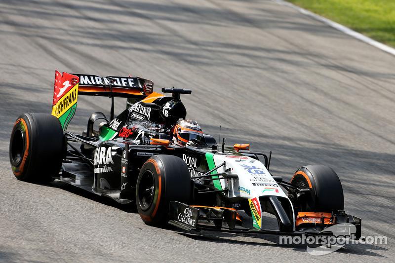 Nico Hulkenberg, Sahara Force India 07