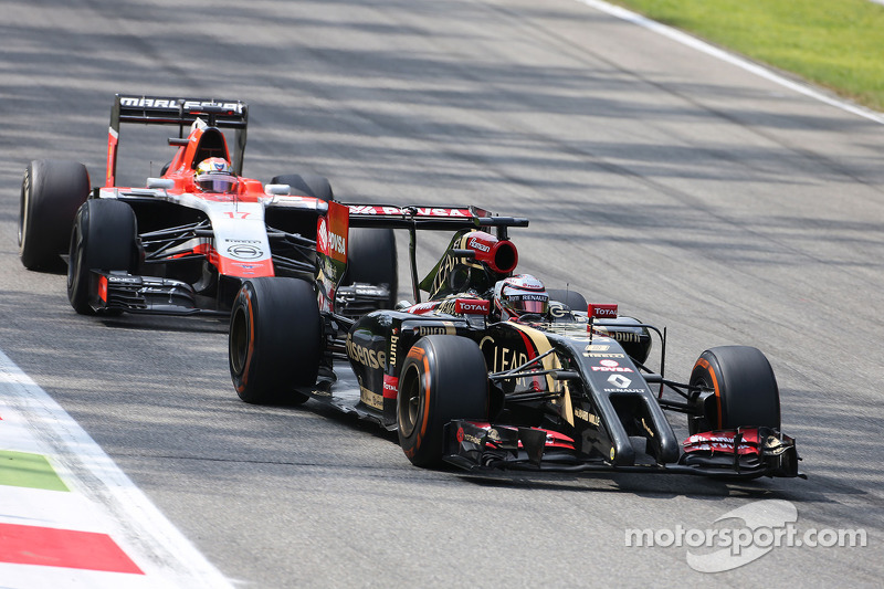 Romain Grosjean, Lotus F1 Team 07