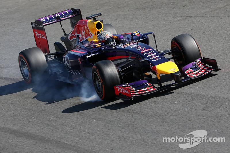 5º Sebastian Vettel - 21 carreras - De Gran Bretaña 2014 a Hungría 2015 - Red Bull y Ferrari