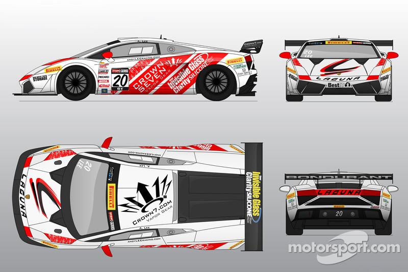 La Reiter Engineering Lamborghini GT3 sarà guidata da Andy Lee al Miller Motorsports Park
