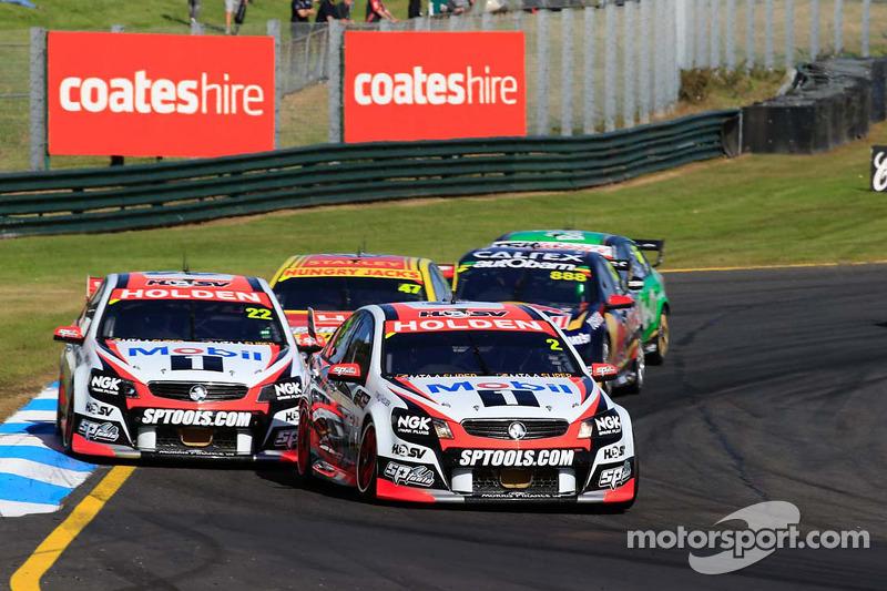 Garth Tander ve Warren Luff, Holden Racing Takımı