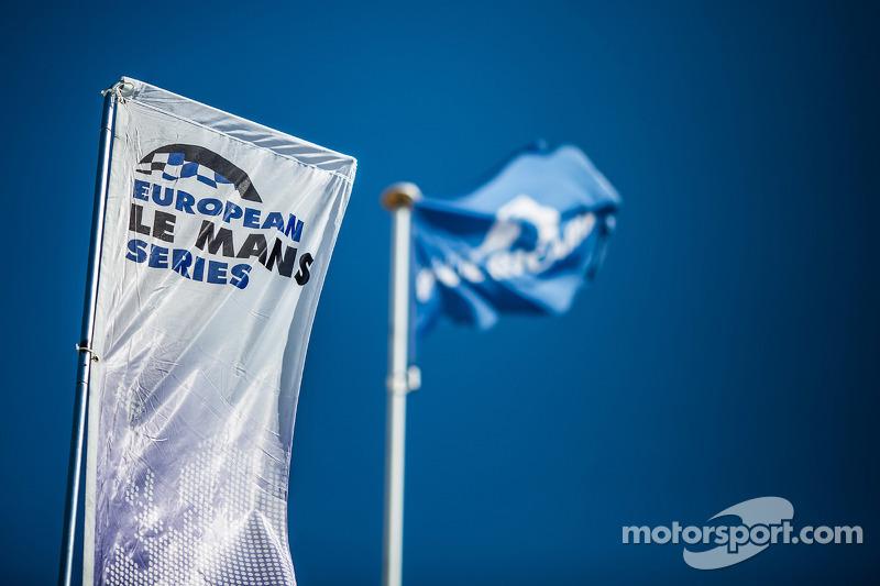 Avrupa Le Mans bayrakları ve tabela