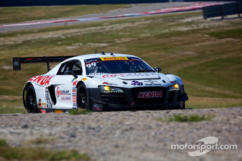 #99 JCR Motorsports Audi R8 LMS: Jeff Courtney