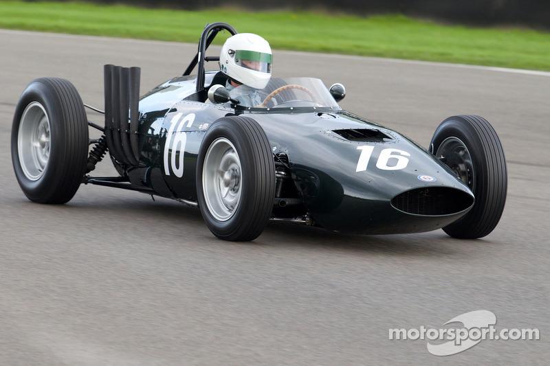 Charles McCabe 1961 - BRM P57