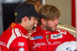 Rebellion Racing-coureurs Nicolas Prost en Nick Heidfeld vriendschappelijk na Peking-incident