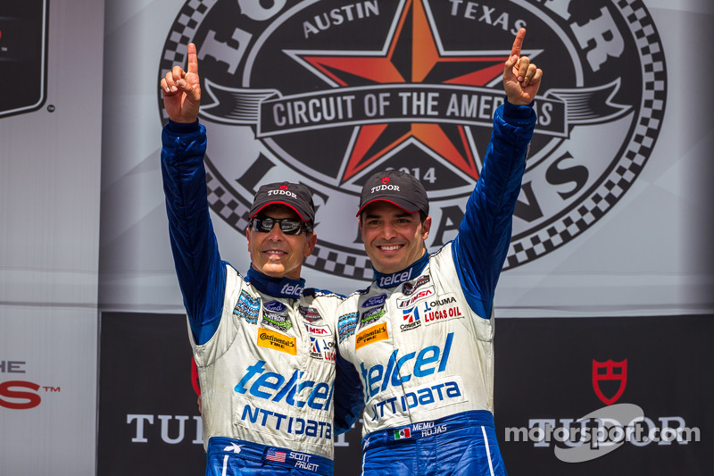 First place Scott Pruett, Memo Rojas