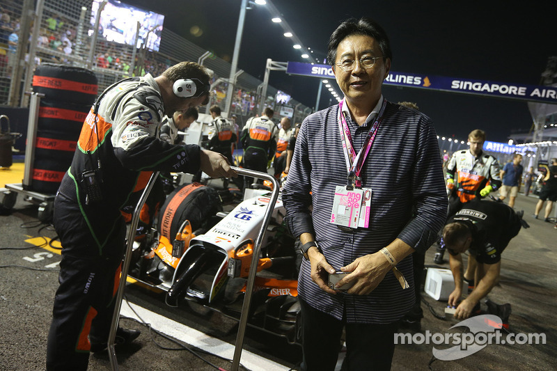Joe Wee sulla griglia di partenza