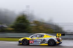 #25 Sainteloc Racing Audi R8 LMS Ultra: Claude-Yves Gosselin, Jean-Claude Lagniez, Marc Rostan
