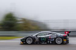 #11 Kessel Racing 法拉利 458 Italia: 迈克尔·布隆尼斯泽维斯基, 亚历山德罗·博纳奇尼, 马尔科·弗雷扎