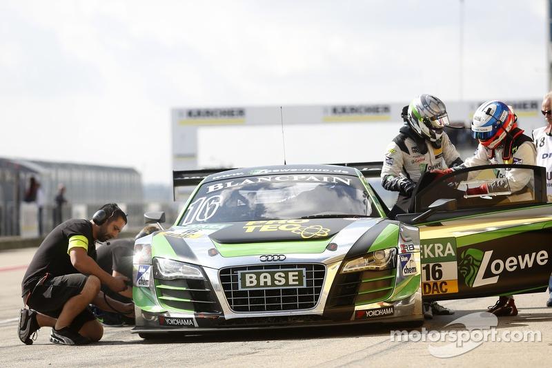 #16 YACO Racing 奥迪 R8 LMS ultra: 菲利普·盖佩尔, 马库斯·温克霍克