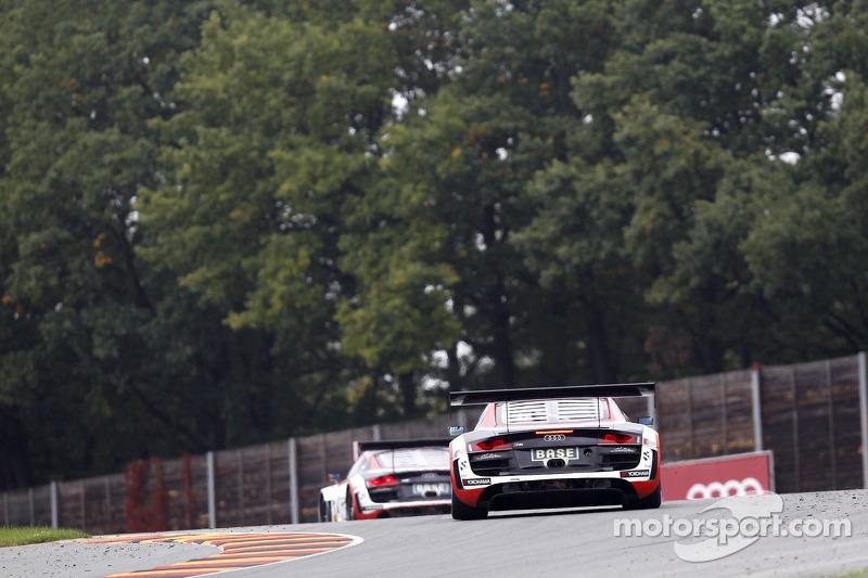 #11 Prosperia C. Abt Racing Audi R8 LMS ultra: Fabian Hamprecht, Nicki Thiim