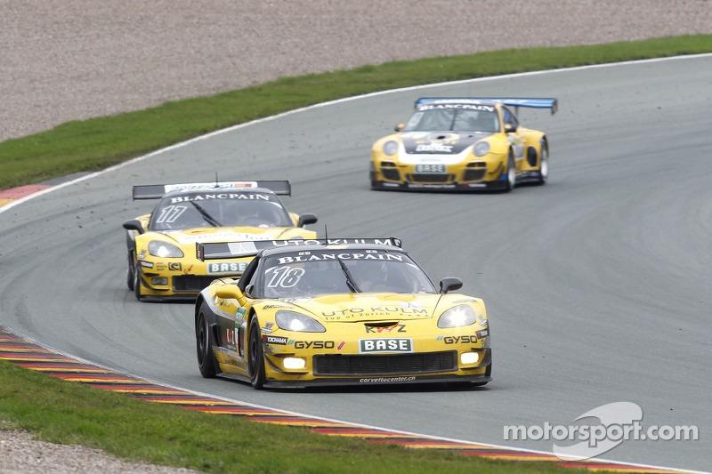#18 Callaway Competition 雪佛兰克尔维特 Z06.R GT3: 托尼·塞勒, 塞巴斯蒂安·布勒克莫伦
