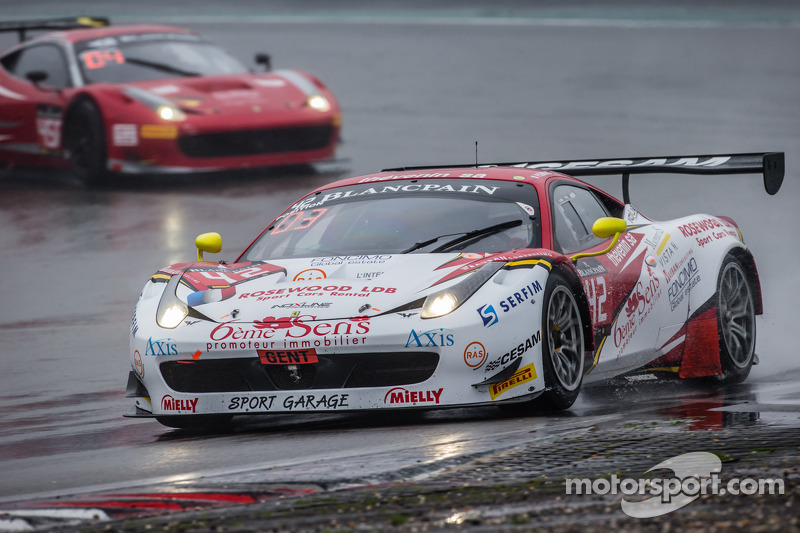#42 Sport Garage 法拉利 458 Italia: 吉尔斯·瓦纳莱, Paul Surand, Michael Petit