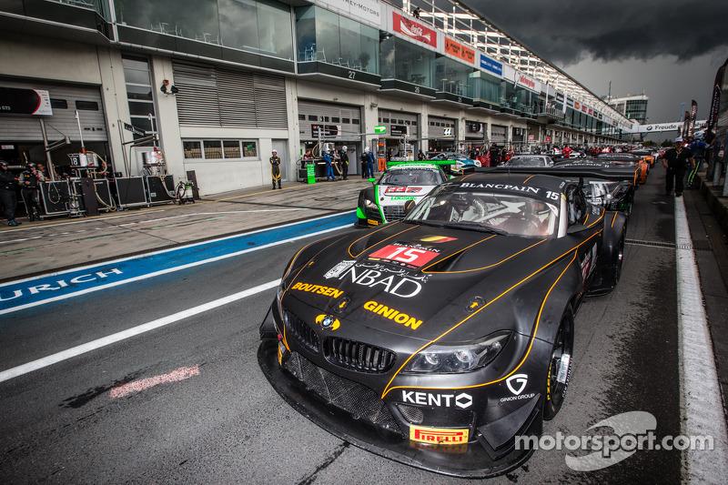 #15 Boutsen Ginion BMW Z4: Karim Ojjeh, Olivier Grotz