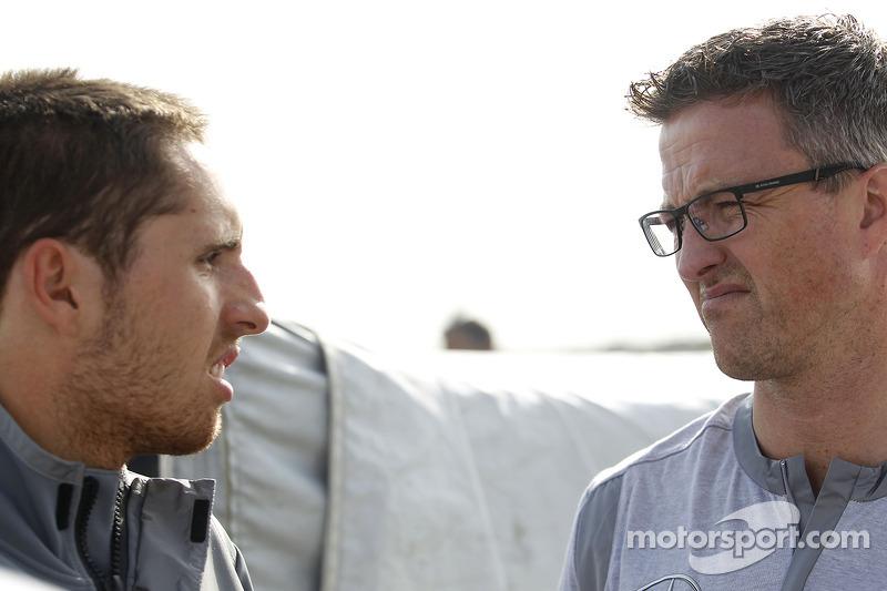 Daniel Juncadella, Mercedes AMG DTM-Team Mucke DTM Mercedes AMG C-Coupe and Ralf Schumacher, Team RSC Mucke