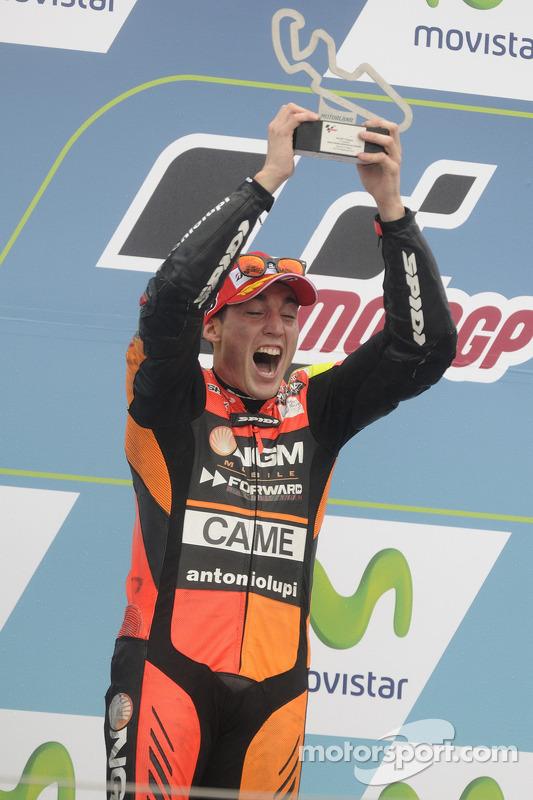 Segundo lugar Aleix Espargaro, NGM Forward Racing Yamaha