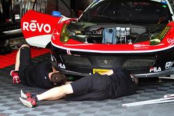 #555 AIM Autosport Ferrari 458 İtalya