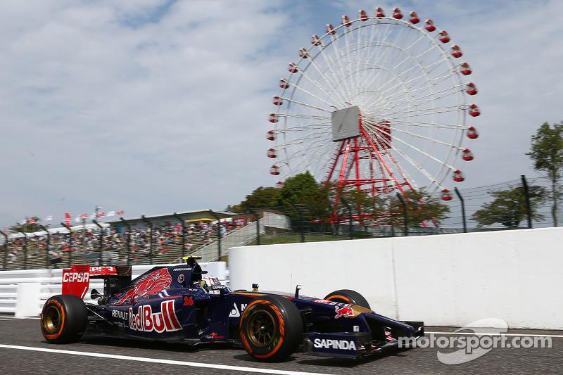 Max Verstappen, Scuderia Toro Rosso STR9 Testrijder