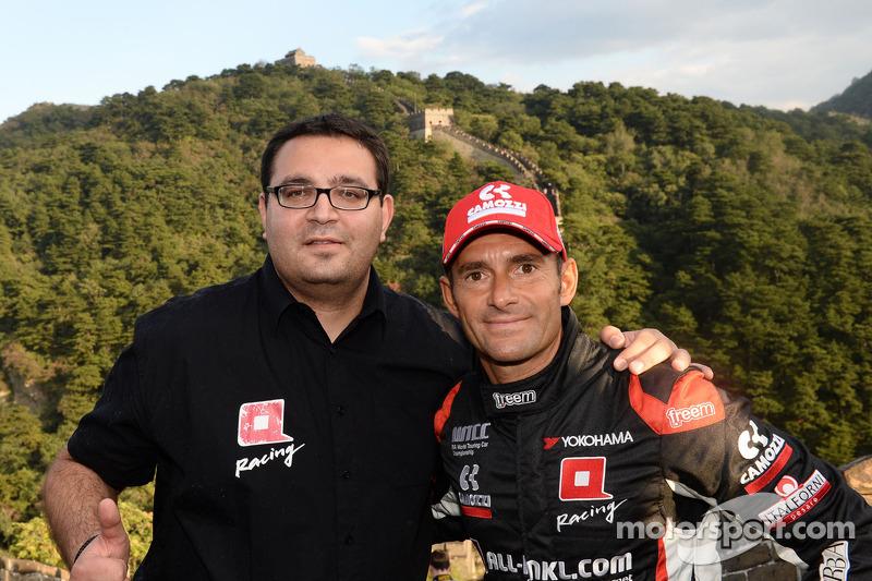 Dominik Greiner, Team Principal, ALL-INKL_COM Münnich Motorsport, Gianni Morbidelli, Chevrolet RML C
