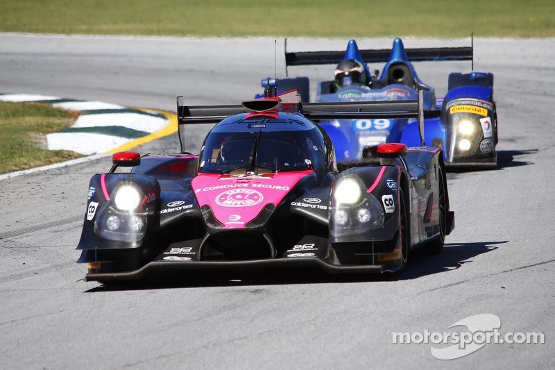 #42 OAK Racing Ligier HPD: 古斯塔沃·亚卡曼, 阿历克斯·布伦德尔, 董荷斌