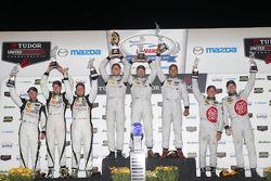 PC组领奖台: 获胜者 Mirco Schultis, Renger van der Zande, Alex Popow, 第二名 Frankie Montecalvo, Gunnar Jeannet