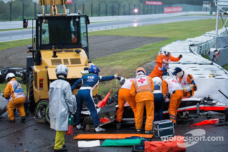 На Гран При Японии-2014 произошла последняя на данный момент авария со смертельным исходом в Формуле 1. Жюль Бьянки врезался в трактор, в результате чего получил диффузное аксональное повреждение головного мозга. 17 июля 2015 года француз скончался