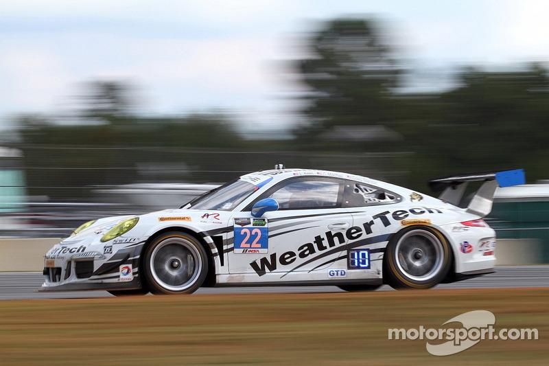 #22 Alex Job Racing 保时捷 911 GT America: 库珀·麦克尼尔, 莱·基恩, 克里格·斯坦顿