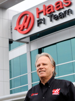 Gene Haas presso la sede Haas F1 Team in Kannapolis, Carolina del Nord