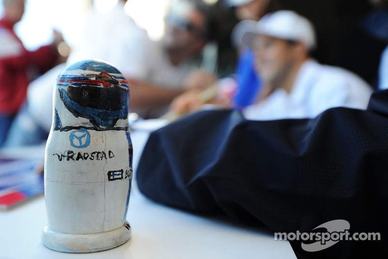 A Russian doll for Valtteri Bottas, Williams at the Fanzone