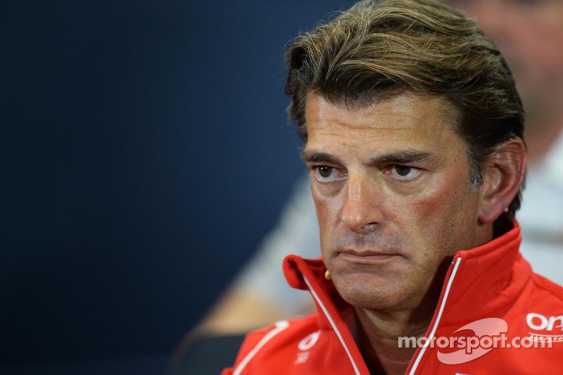Graeme Lowdon, Amministratore Delegato Marussia F1 Team alla conferenza stampa FIA