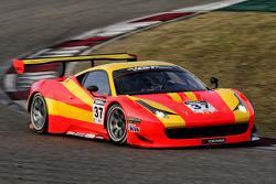 #37 BBT Ferrari 458 İtalya GT3: Anthony Liu Xu, Davide Rizzo